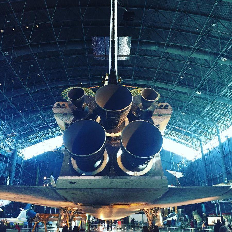 8. Национальный музей авиации и космонавтики (Вашингтон, США) Исследовательский центр Смитсоновского