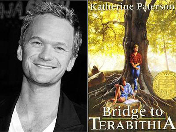 40. Нил Патрик Харрис (Neil Patrick Harris) — Кэтрин Патерсон «Мост в Терабитию».
