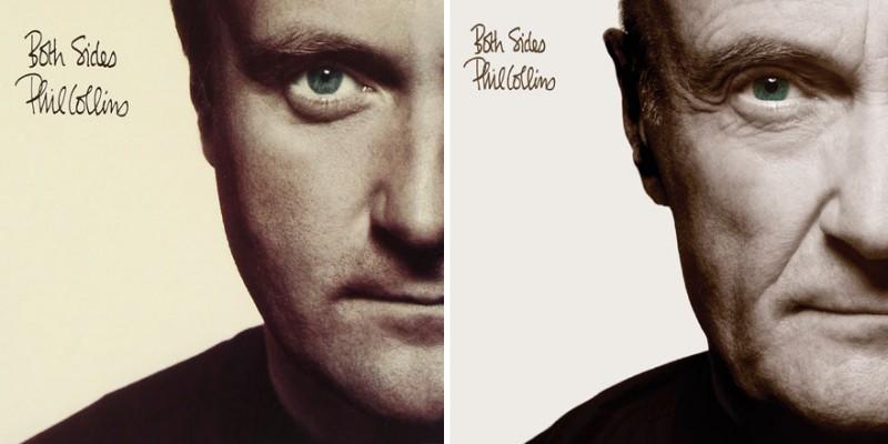 Фил Коллинз воссоздал обложки своих альбомов