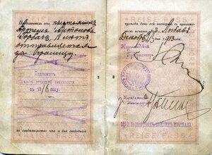 Паспорт заграничный 0020