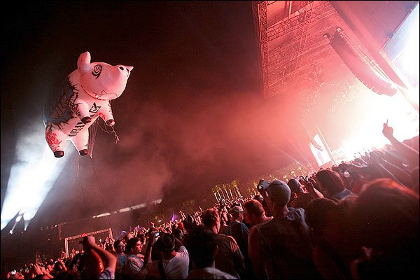 Курьёзы на концертах рок-звезд