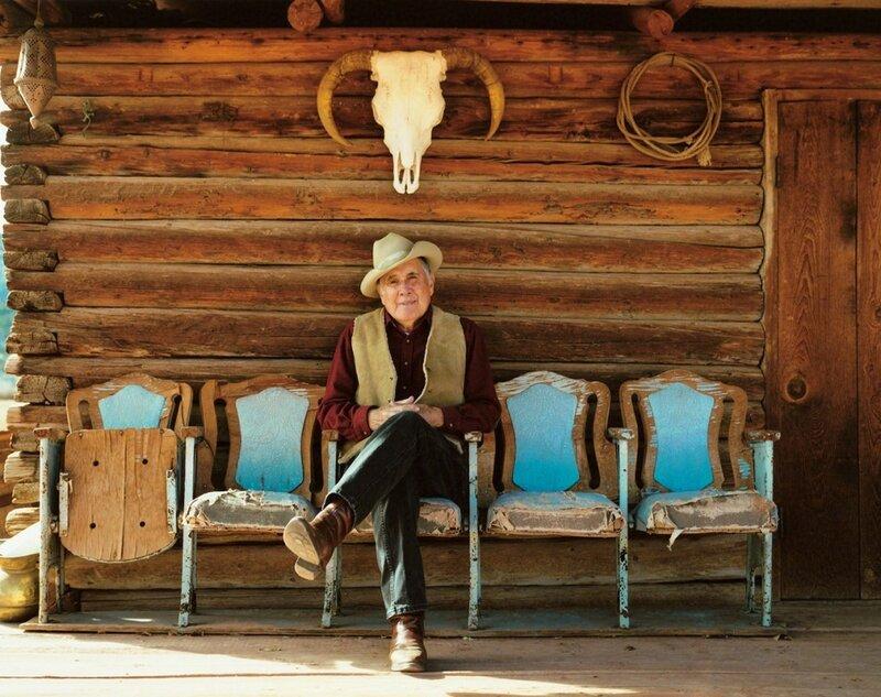 Вакеро Герман Мансанарес. Абикиу, штат Нью-Мексико, 2008 год. «Ранчо принадлежало моему отцу. Моя семья владеет этим ранчо уже более 100 лет», – рассказывает Мансанарес.