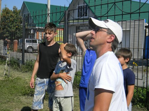 День физкультурника в Куйбышеве