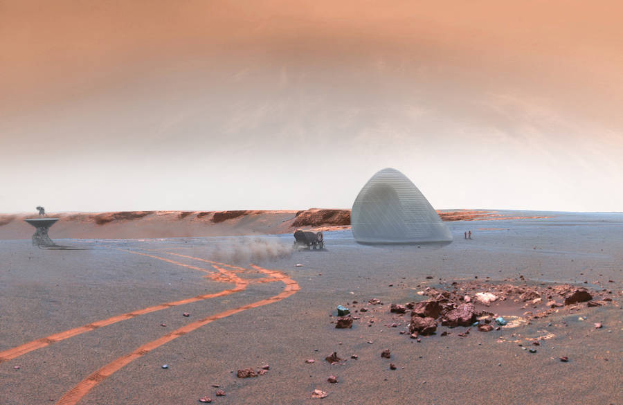 Mars Ice House Project