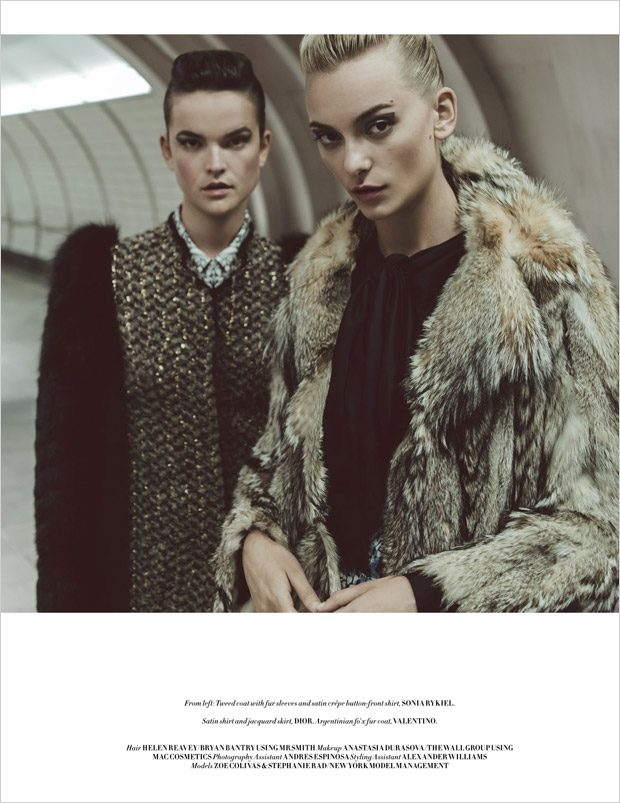 Winter is Coming by Matallana & DaVian Lain for L'Officiel Singapore