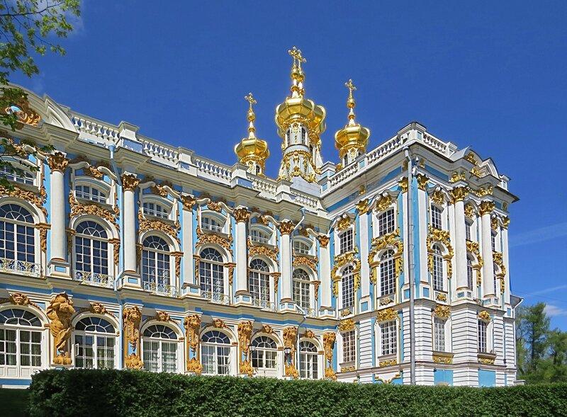 Церковь Воскресения Христова  при Екатерининском дворце.