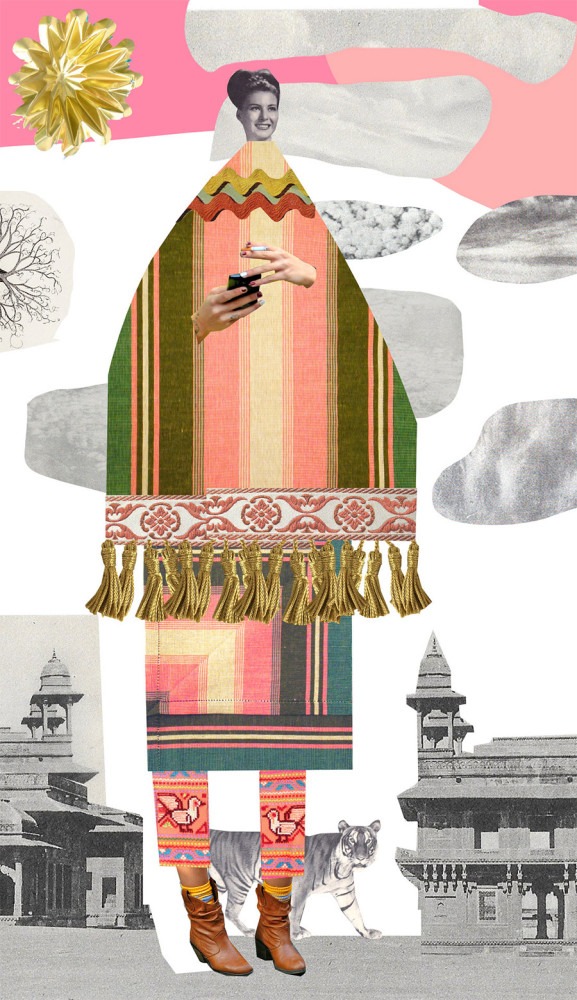 The Catalogue of Imaginary Beings: Collages by Johanna Goodman