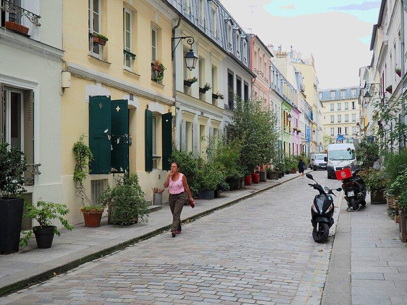 Париж, улица Кремьё (Paris, Rue Cremieux)