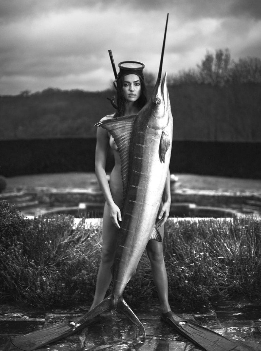 Irina Shayk by Mert Alas and Marcus Piggott for Double Magazine Spring-Summer 2016