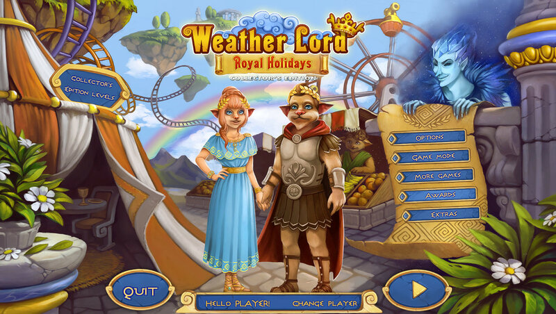 Weather Lord: Royal Holidays. CE