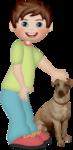 Собаки+дети
