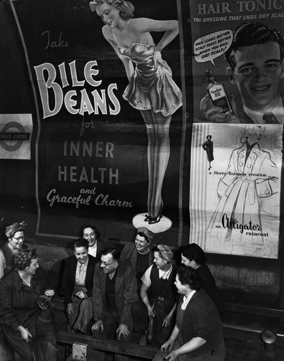 1955. Жизнь в подземке