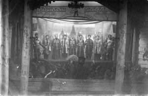1915. Полковой театр