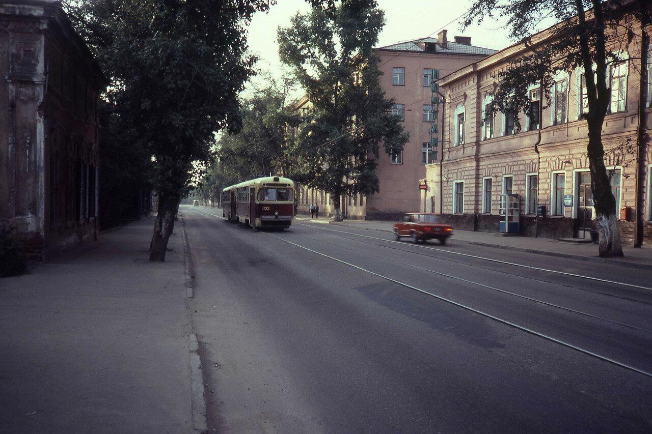 Иркутск. Трамвай на улице Степана Разина