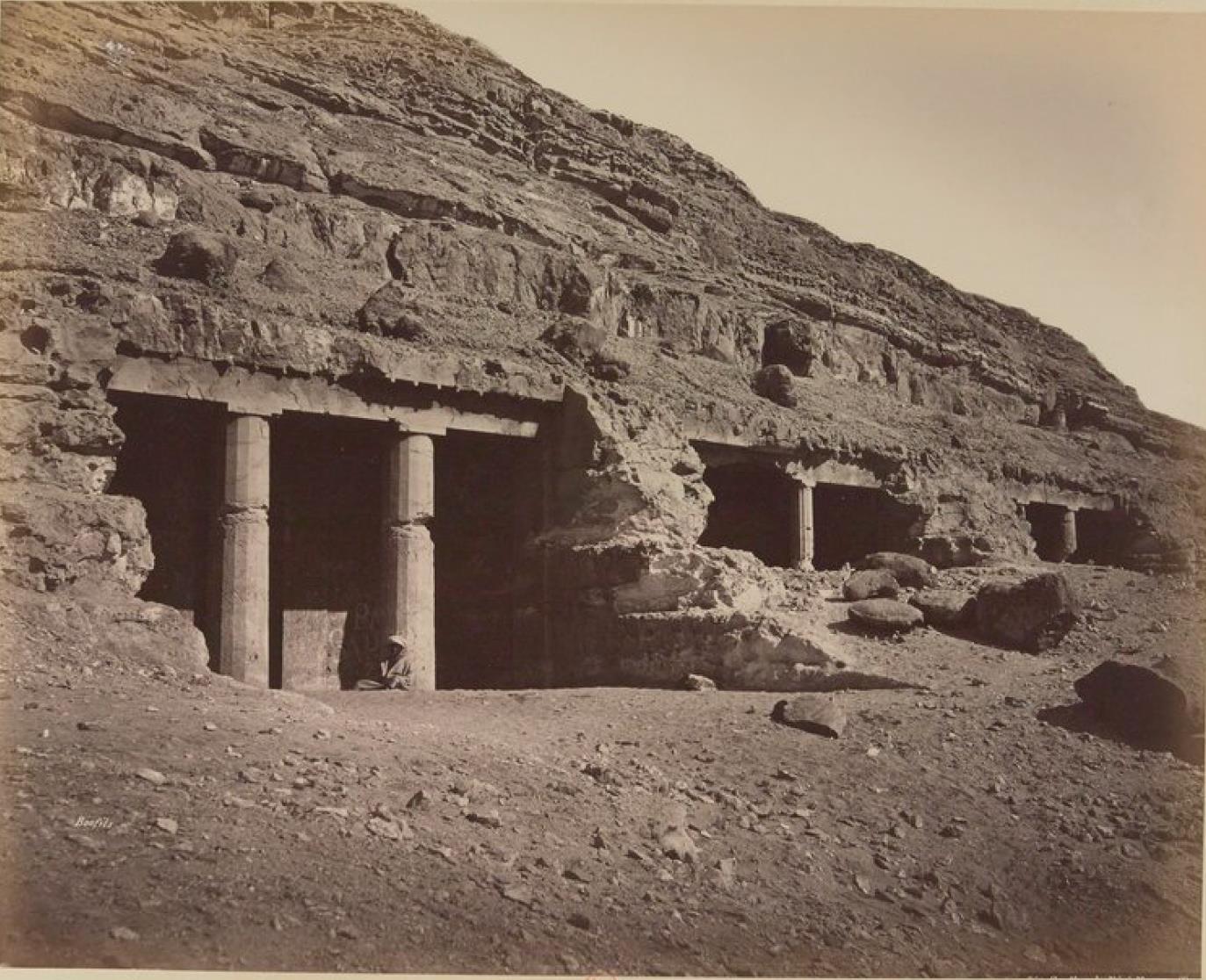 Бени-Хасан. Скальный некрополь