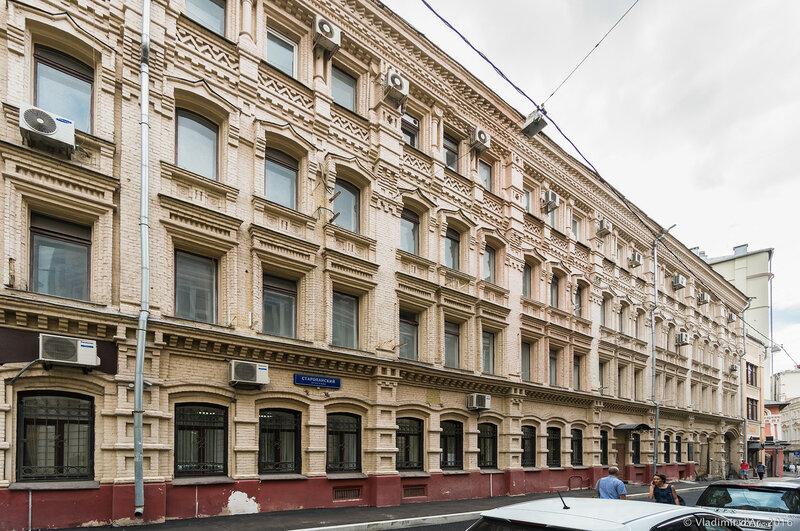 Гостиница — Доходный дом Н. Я. Лопатина (1874, архитектор Н. В. Никитин)