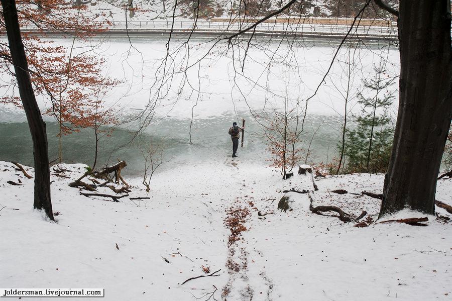 проверка твердости льда
