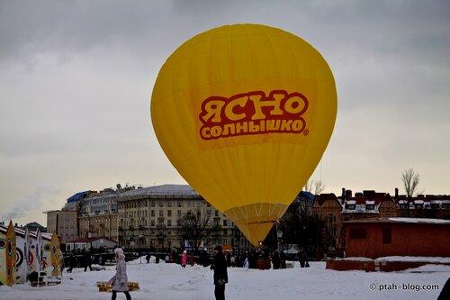 воздушный шар, масленица