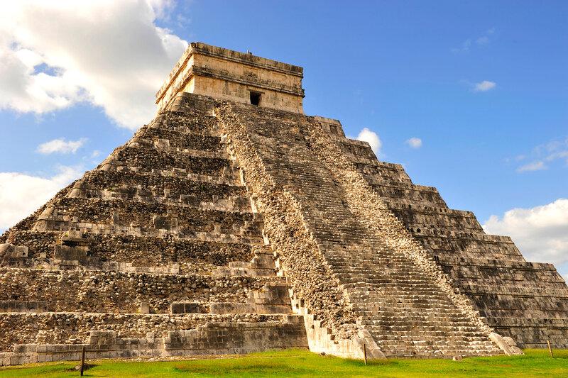 пирамида Кукулькана...