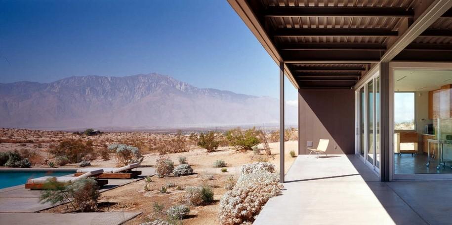 Desert House в Калифорнии от Marmol Radziner
