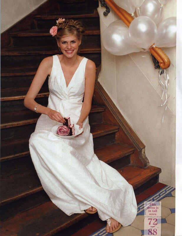 Бурда моден свадебные платья выкройки 4