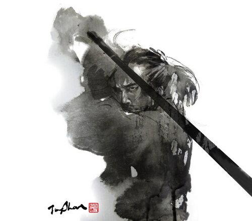 Самураи и воины Rola Chang