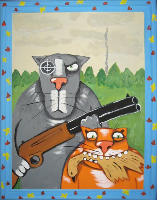 Коты Васи Ложкина