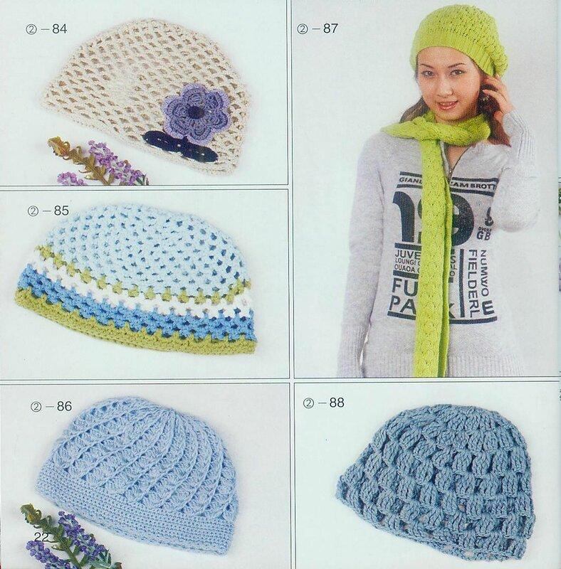 Serioustouch вязаные шапки из японских и китайских журналов .