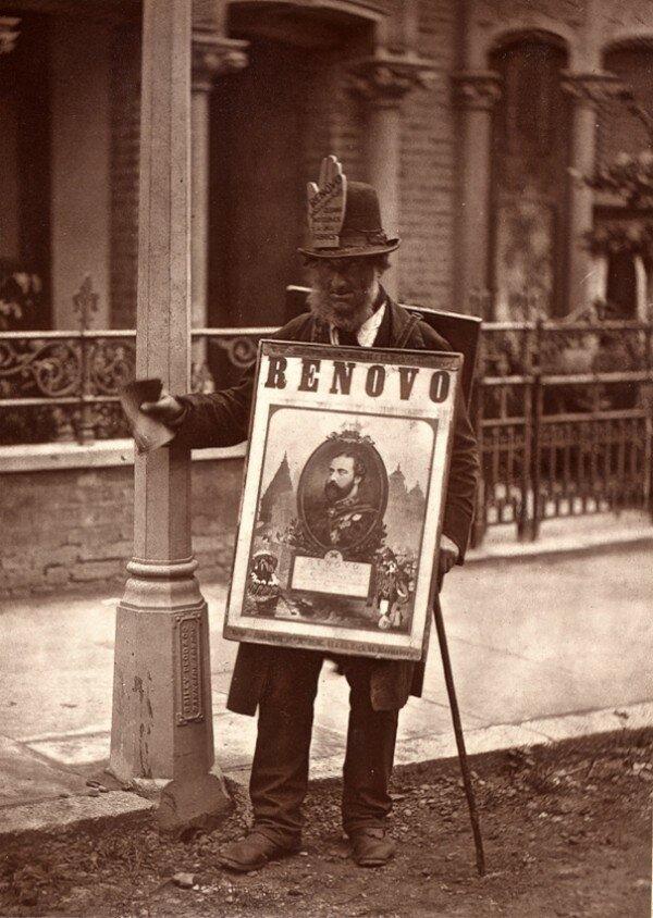 John Thomson's Street Life in London, 1876