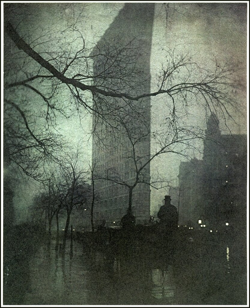 Edward Steichen 1879 -1973.The Flatiron, Evening