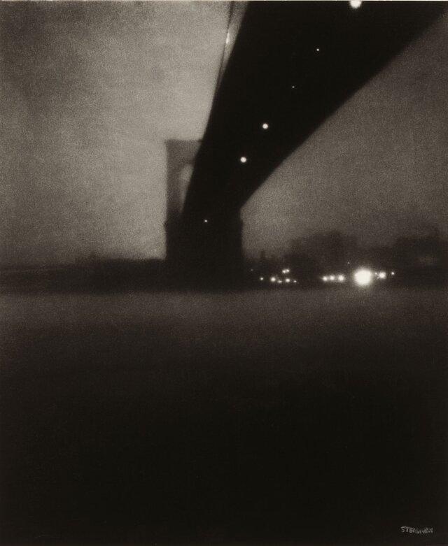 Edward Steichen 1879 -1973.Brooklyn Bridge