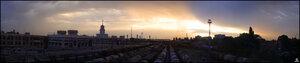 Панорама вокзала Краснодар I