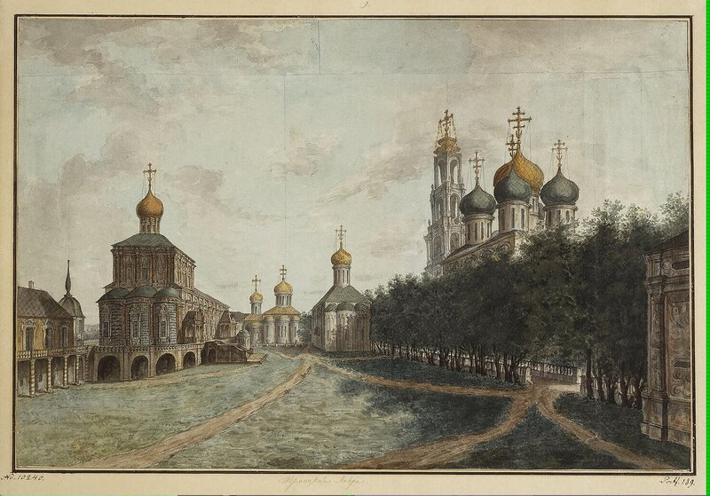 Alexeyev Fiodor - Monastery of the Trinity and St Sergius - JRR-6523