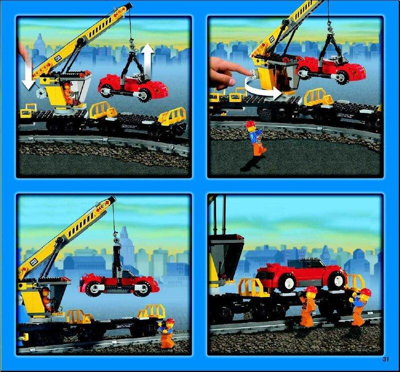 pchel2000 LEGO железная дорога.