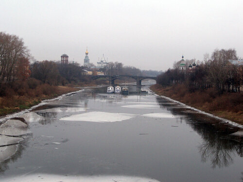 4 ноября 2014. Вологда. Река Вологда
