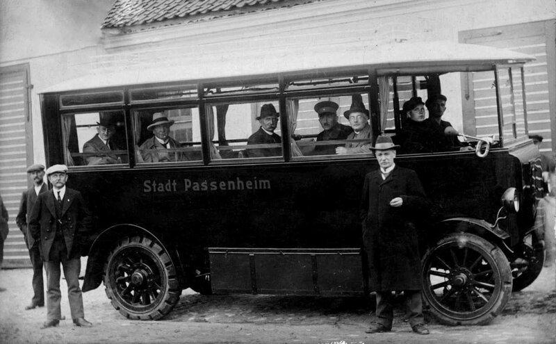 Passenheim (сейчас польский город Pasym), Elektrobus, 1922.jpg