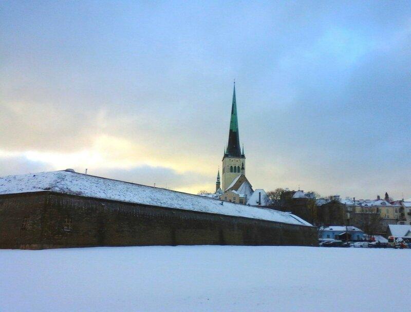Таллин февраль