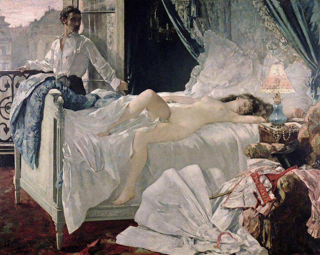 Henri Gervex, 1852-1929. ����� 1878. �����, �������������� �����.jpg