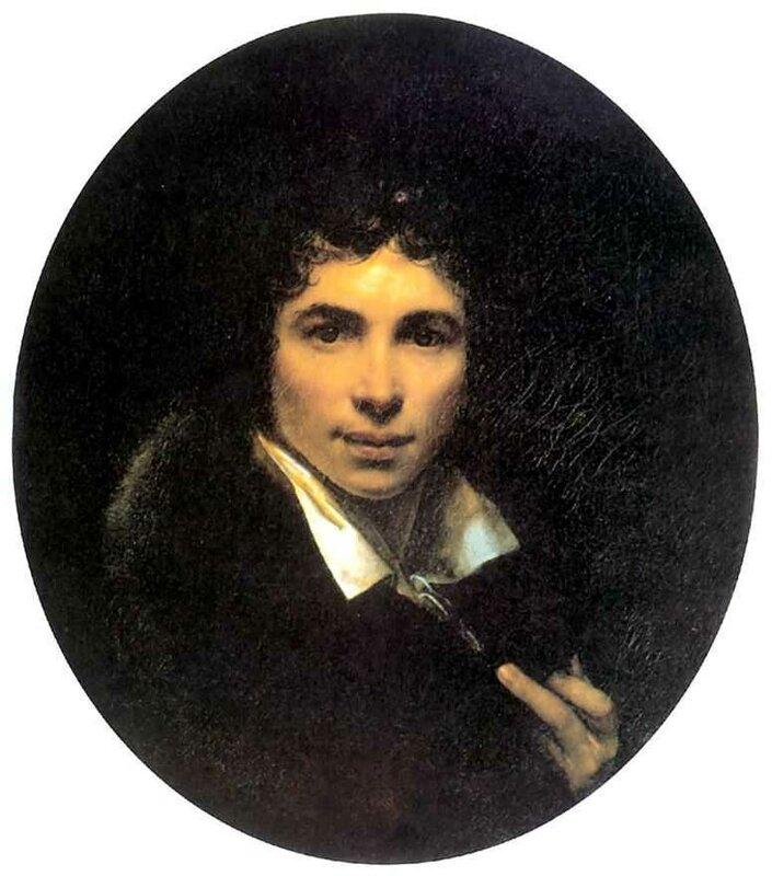 «Автопортрет»1820Холст, маслоУффициФлоренция