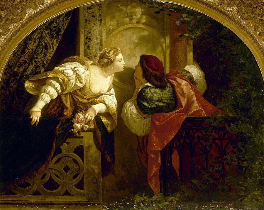 Henri Pierre Picou Ромео и Джульетта