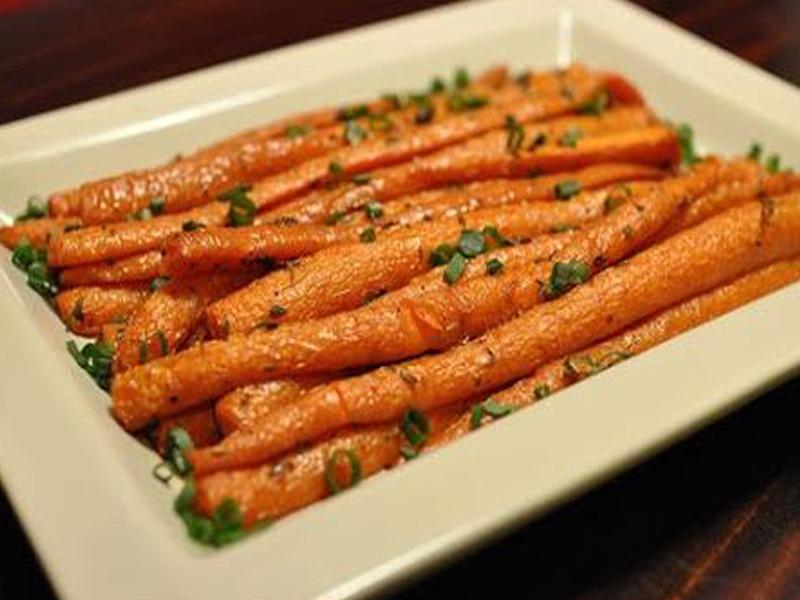 Морковь запеченная с приправами