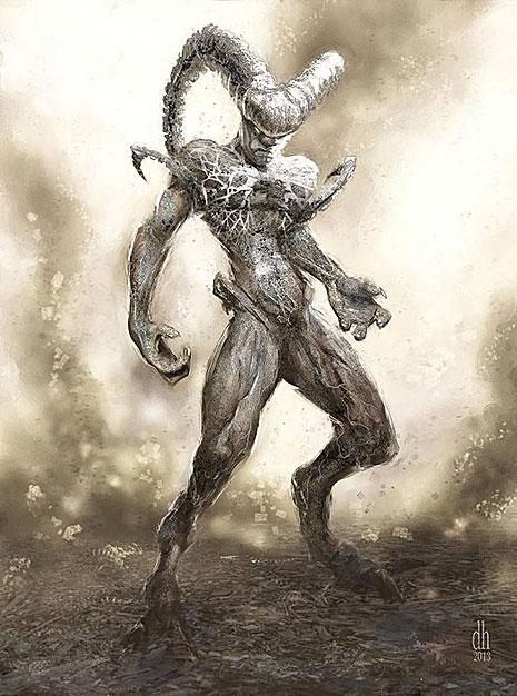 12 знаков Зодиака в образах чудовищных монстров (фото 1)
