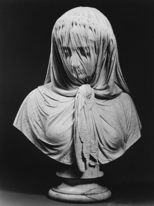 11. Женщина в вуали Джованни Батиста Ломбарди, 1869.