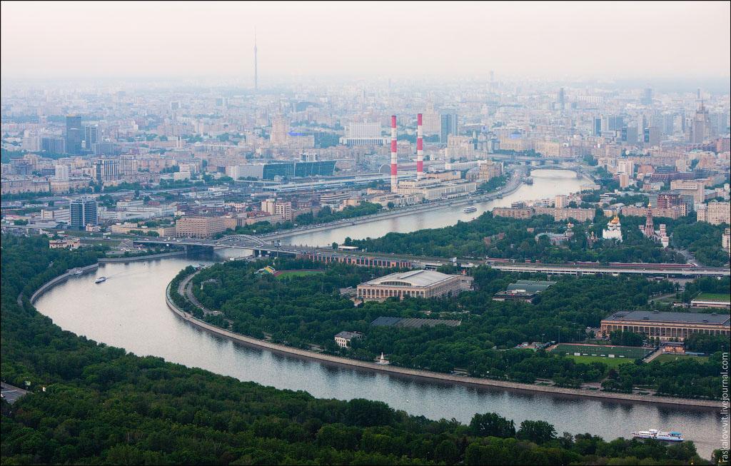 7. Москва-Река, ТЭЦ-12, центр.