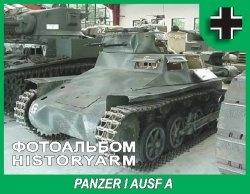 Книга Немецкий легкий танк Panzerkampfwagen I AUSF A