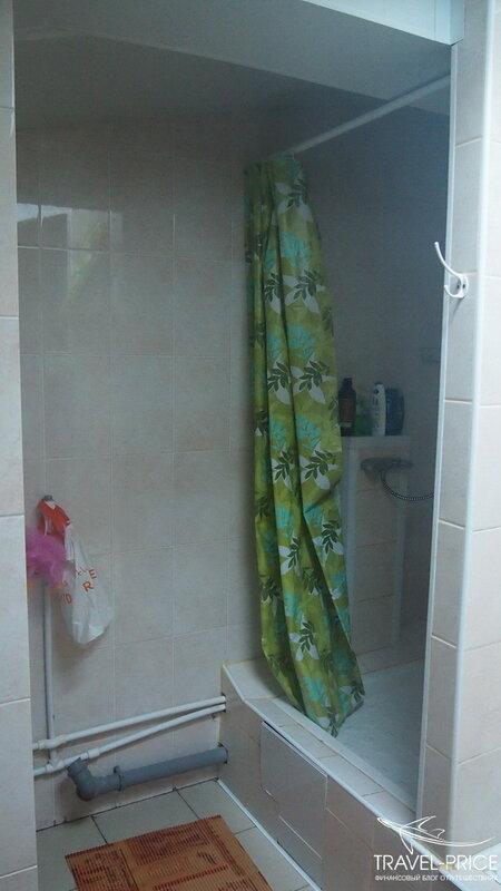 душ в greenpoint hostel