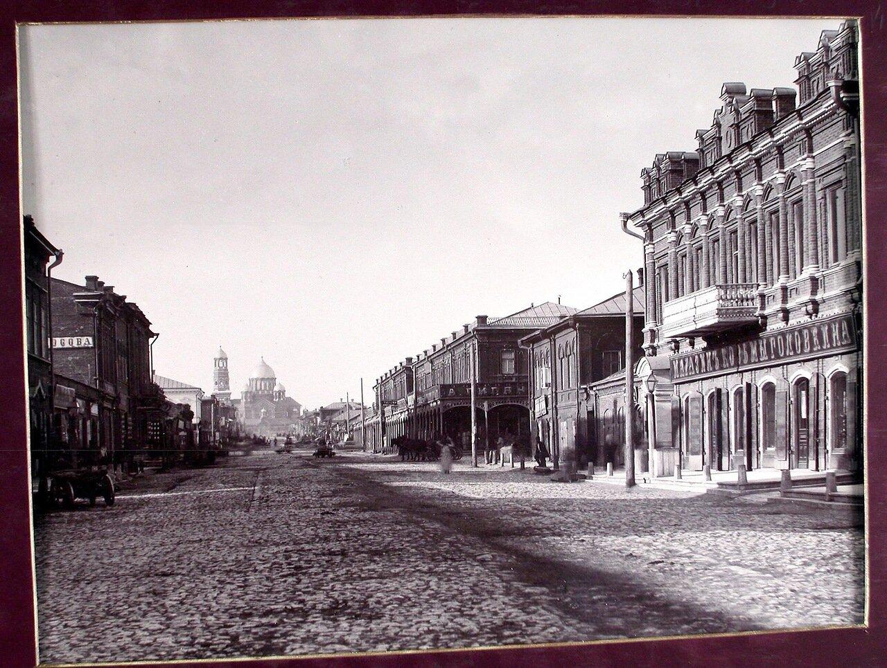 07. Вид на Гостинные ряды со стороны Ново-Соборной улицы
