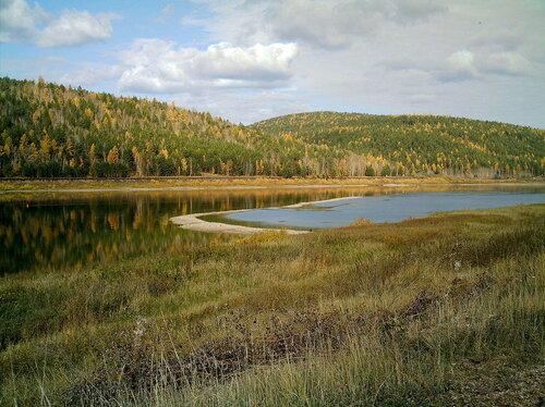 Начало осени на реке Лене