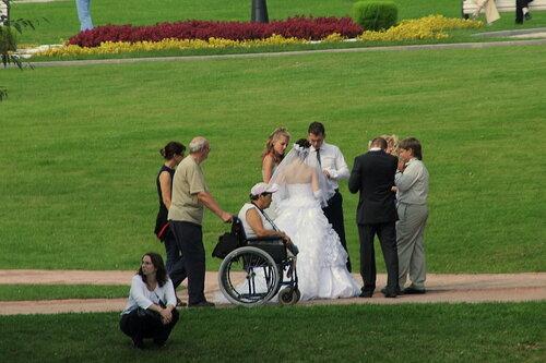 свадьба и случайный фотограф