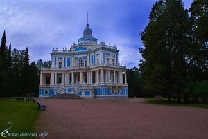 Павильон КАТАЛЬНАЯ ГОРКА, построенный для увеселения Екатериной Второй